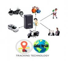 GPS Tracker Magnetic SMS Voice Recording Track Map Location