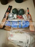 Cricket equipments Brand New