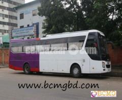 Business Class Ac Bus Rental Agency In uttara Dhaka Bangladesh