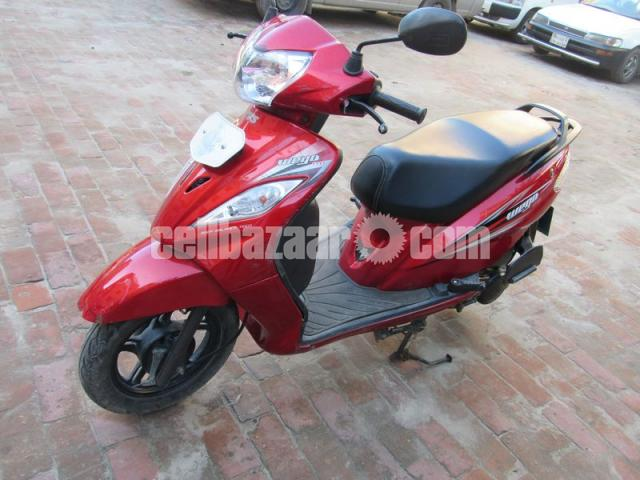 TVS WEGO  Scooter, Model: 2015,Registration: 2016 - 1/3