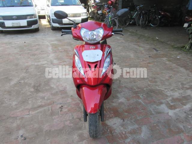 TVS WEGO  Scooter, Model: 2015,Registration: 2016 - 3/3