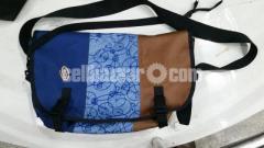 Timbuk2 Classic Messenger Bag Blue-Brown Designed Color