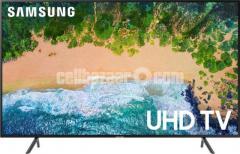 """Samsung NU7100 75"""" 4K Smart Flat LED TV"""