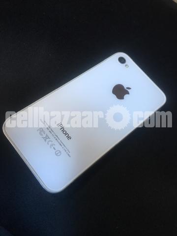 I phone 4 (8 gb white) - 1/4