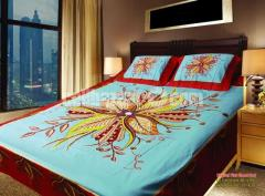 Beautiful Panel Bedsheet