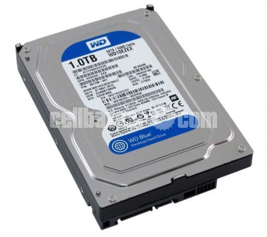 7th Gen. Intel Core I3 3.90 GHz + Western Digital Blue 1 TB HDD - 2/2