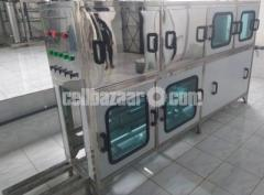 20 liter jar automatic Washing, filling & capping machine