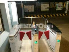 Imported automatic flap barrier