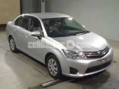 Toyota Axio X Silver Color 2014 - Image 1/3