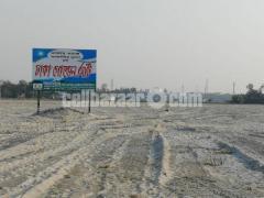 South corner 2.5 katha plot @ keranigonj