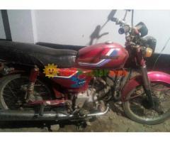 winner 80 cc motorcycle red