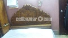 Original Shegun wood Bed. শেগুন কাঠের খাট