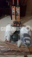 Brand new full cricket equipments