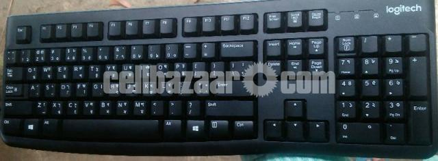 KEYBOARD Logitech K 120 (3 Month Warranty) - 1/1