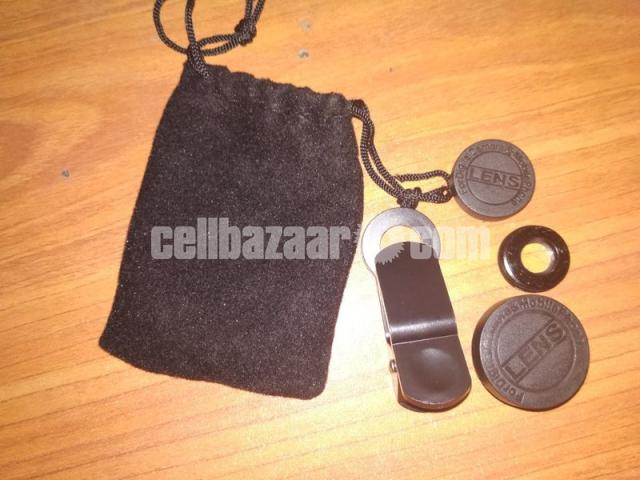 3-in-1 Wide Angle Macro Fisheye Lens All Mobile Camera Kits - 1/5