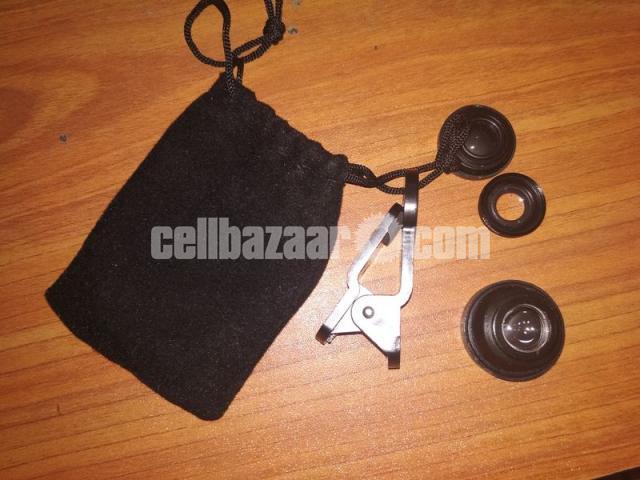 3-in-1 Wide Angle Macro Fisheye Lens All Mobile Camera Kits - 2/5