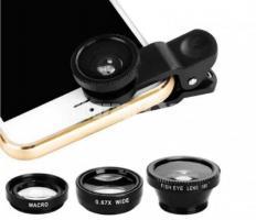 3-in-1 Wide Angle Macro Fisheye Lens All Mobile Camera Kits - Image 3/5