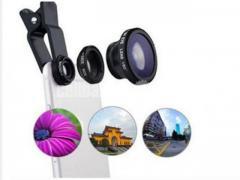 3-in-1 Wide Angle Macro Fisheye Lens All Mobile Camera Kits - Image 4/5