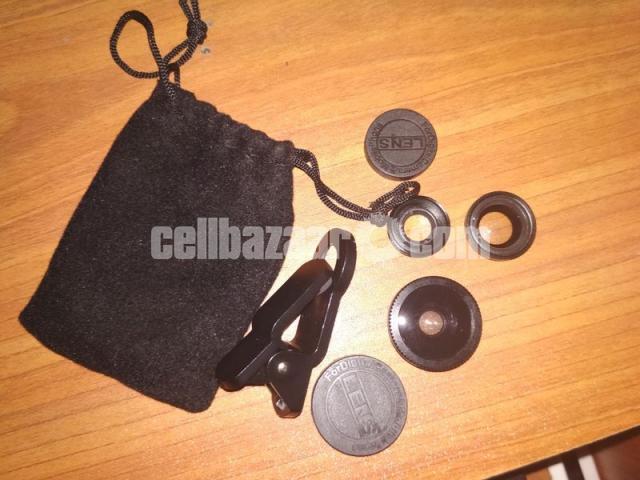 3-in-1 Wide Angle Macro Fisheye Lens All Mobile Camera Kits - 5/5
