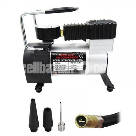 12V Portable Mini Air Compressor Electric Tire Infaltor Pump - 2/5
