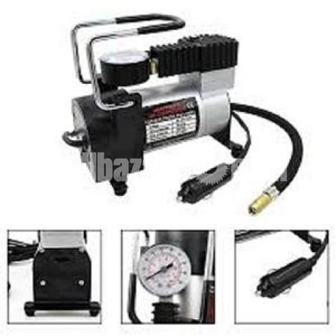 12V Portable Mini Air Compressor Electric Tire Infaltor Pump - 4/5
