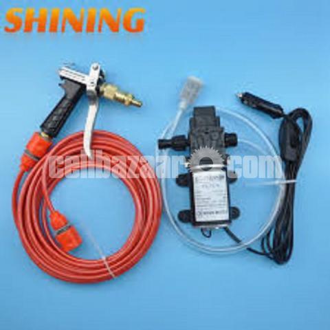 Mini Car/Bike High Pressure Washer Pump Set : - 1/5