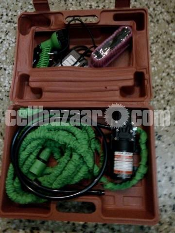 Mini Car/Bike High Pressure Washer Pump Set : - 4/5
