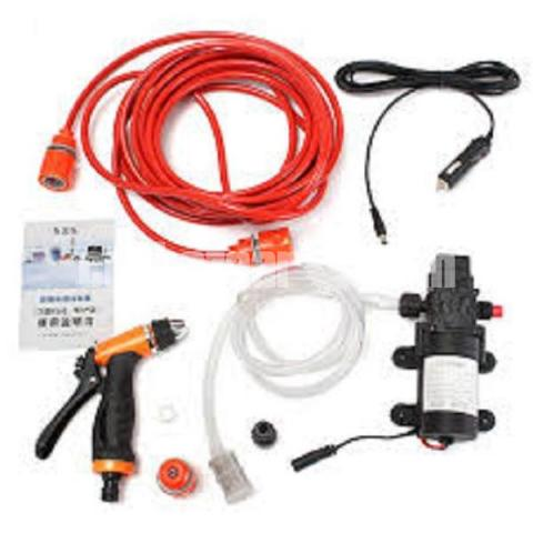 Mini Car/Bike High Pressure Washer Pump Set : - 5/5