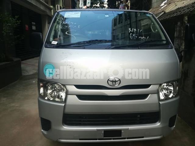 Toyota Hiace GL Pkg Silver Color - 1/3