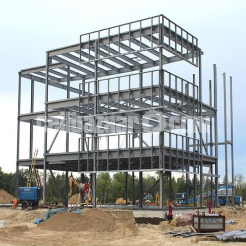 Steel Building Structure - 2/5