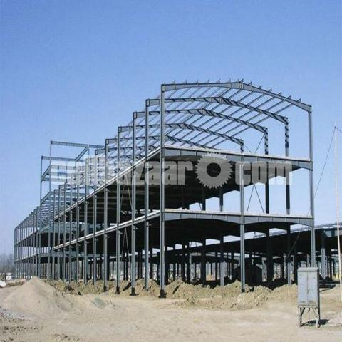Steel Building Structure - 3/5
