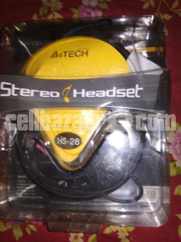 A4 Tech HS-28 Comport Stereo Head Phone - 1/5