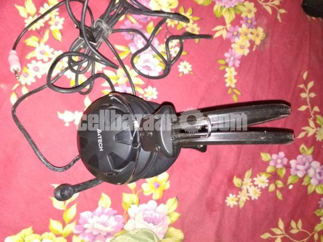 A4 Tech HS-28 Comport Stereo Head Phone - 3/5