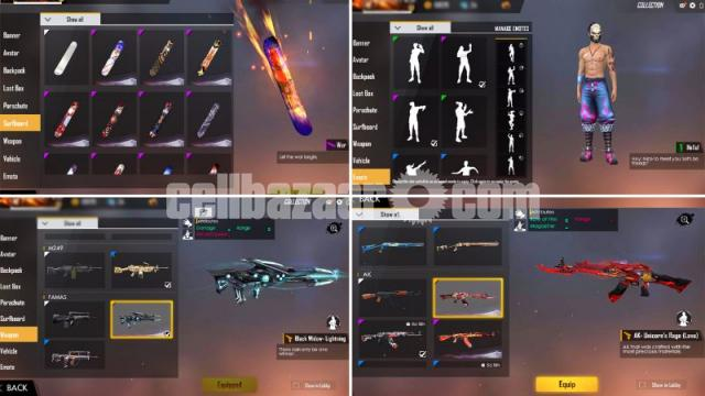 Free fire mega account - 2/5