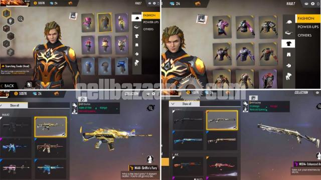 Free fire mega account - 3/5
