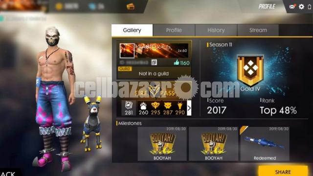 Free fire mega account - 5/5
