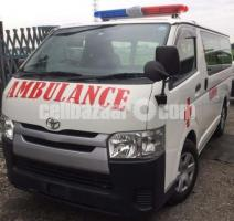 Toyota Hiace Ambulance White Color