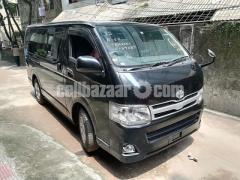 Toyota Hiace GL Dual Ac Black Color