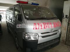Toyota Hiace Ambulance Silver Color