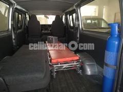 Toyota Hiace Ambulance Silver Color - Image 4/5