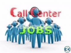 Call Center executive female